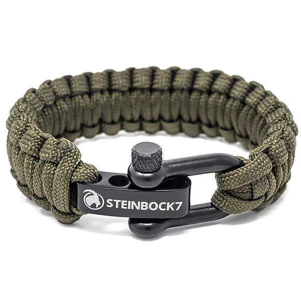 STEINBOCK7 Paracord Armband